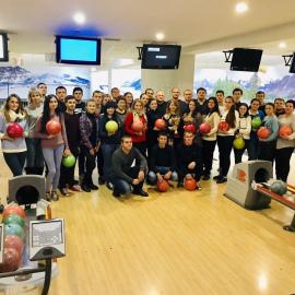 Відбувся турнір з боулінгу між викладачами та студентами інституту