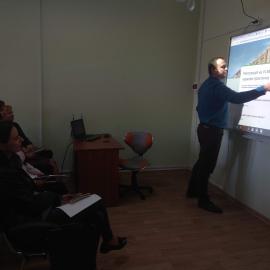 Відбувся тренінг щодо використання навчального комплексу SMART Board