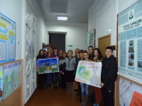 Competition of posters on ecological issues