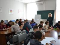 Делегація з  Могилів-Подільського монтажно-економічного коледжу