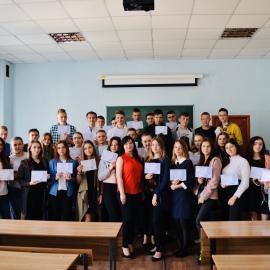 Вітаємо випускників Школи юного маркетолога!